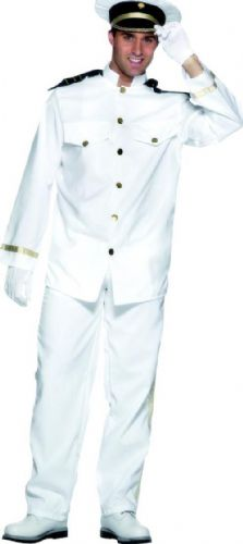 Captain - Sexy Men's Fancy Dress Costume (Smiffys 24850)